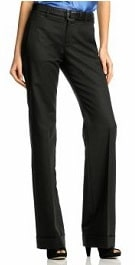 banana republic black womens suit 2