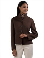 Brooks Brother's Wool Angora Double-Faced Coat