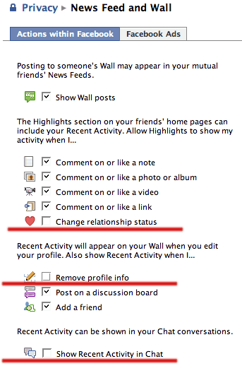 fb newsfeed