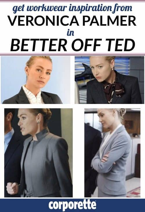 The show Better Off Ted was a goldmine for workwear inspiration, particularly Portia di Rossi's character, Veronica Palmer. We interviewed the character's stylist to talk about suits, tailoring, comfortable heels, and more. Read our interview and get workwear inspiration from the best show you never watched (but seriously, go watch it, it was great).