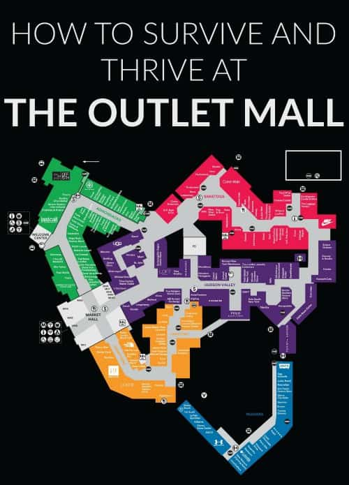 how to survive the outlet mall and get killer deals