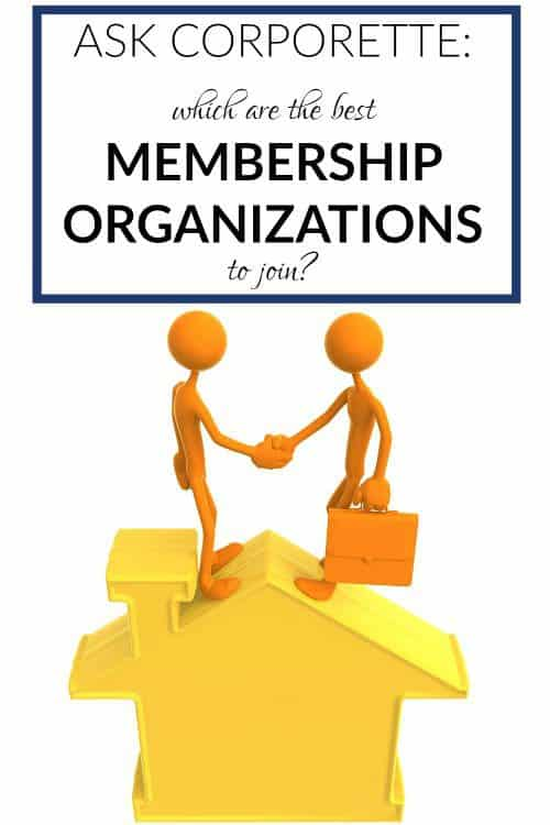 membership organizations to join