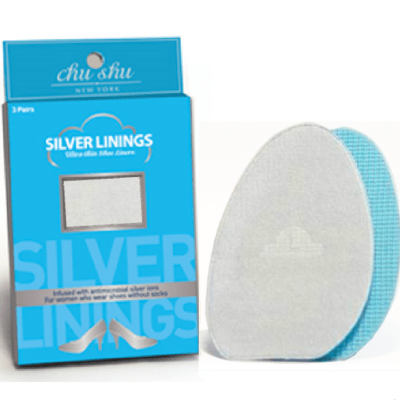 Silver Linings Ultra-Thin Shoe Liners