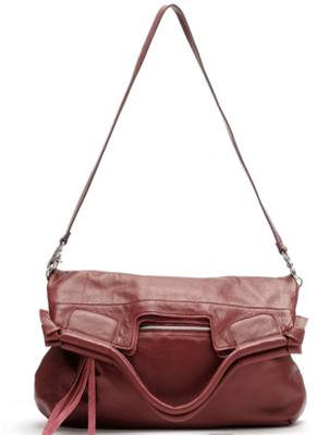 MID CITY TOTE IN WAXY TUMBLE NATURAL GRAIN LEATHER