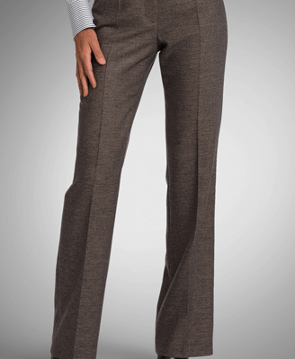 Tailored Wool Dress Pant by BOSS Black
