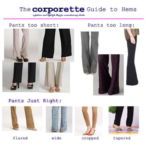 The Coporette Guide to Hems