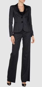 How to Wear #Pinstripes | Corporette