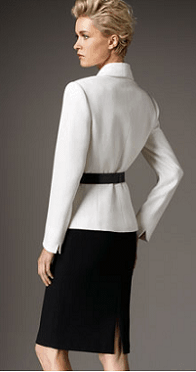 tahari two-tone belted suit 2