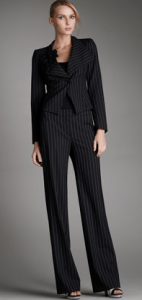 Double-Pinstripe Trousers
