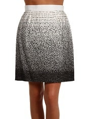 Kate Spade New York – Kylie Skirt (Clotted Cream Black Ombre Jacquard) – Apparel