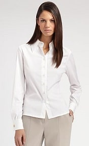 How to Keep Your White Blouses White