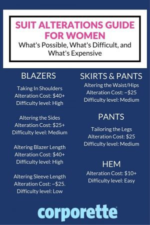 suiting alterations for women