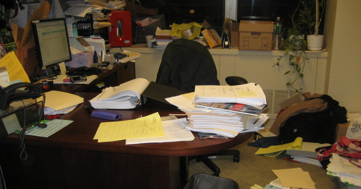 Kat's Very Messy Office