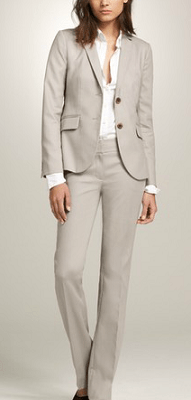 J.Crew superfine cotton suiting