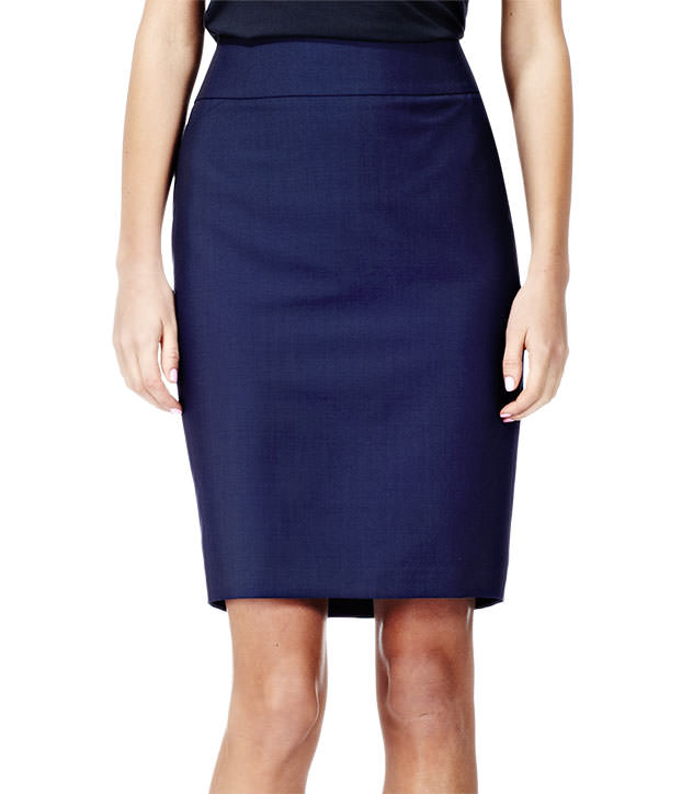 Reiss Venetia SEAM DETAIL FORMAL PENCIL SKIRT