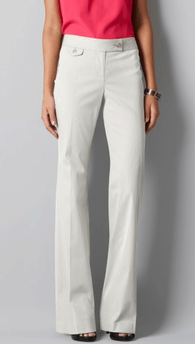 Marisa Boot Cut Pants in Corded Cotton