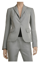 Silk & Cotton Tailored Jacket