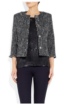 MICHAEL Michael Kors Cotton-blend tweed jacket