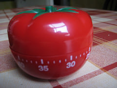 Pomodoro Kitchen Timer for Action Logging, originally uploaded by AndyRobertsPhotos.
