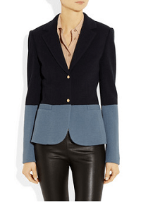 The Row Garton wool-blend jersey blazer