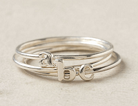 Wee Initial Ring