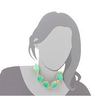 Kenneth Jay Lane Jade Necklace