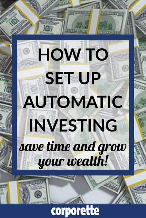 how to set up automatic investing