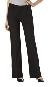 Mossimo® Womens TRS Pant (Fit 4) - Black