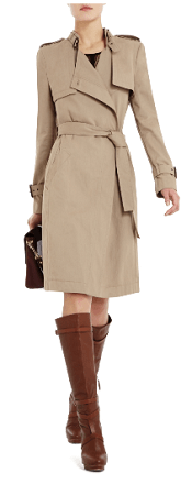 DIETRICH DOUBLE-BREASTED TRENCH COAT
