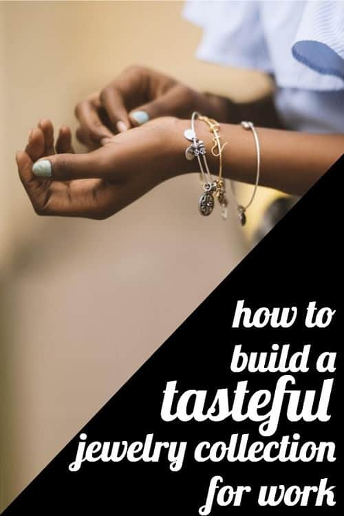c05398265ab Wondering how to build a jewelry collection for work that's tasteful and  polished? A reader