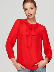 MARC BY MARC JACOBS Top - Exclusive Evie Silk Long Sleeve