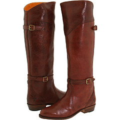 Frye - Dorado Riding (Bordeaux Textured Full Grain) - Footwear
