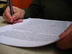 Pen to Paper, originally uploaded to Flickr by Orin Zebest.