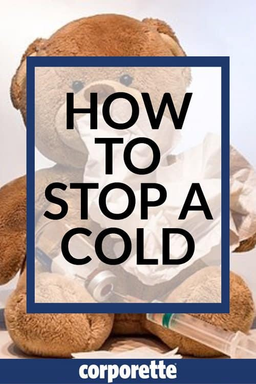 how to ward off a cold