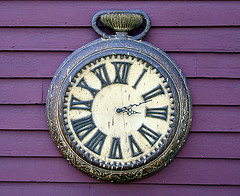 Pocket Watch Clock, originally uploaded to Flickr by Svadilfari