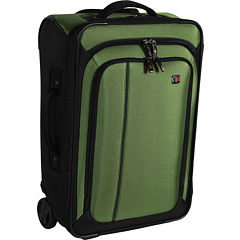 Victorinox - Werks Traveler 4.0 - WT Ultra Light Slim Wheeled Boarding Upright Carry-On (Emerald/Black) - Bags and Luggage