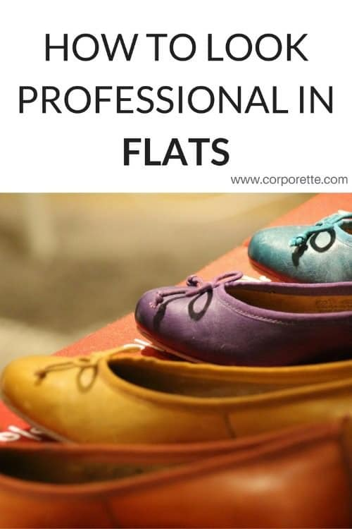 How To Look Professional in Flats