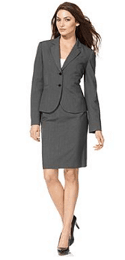 Calvin Klein Stretch Blend Suit Separates Collection