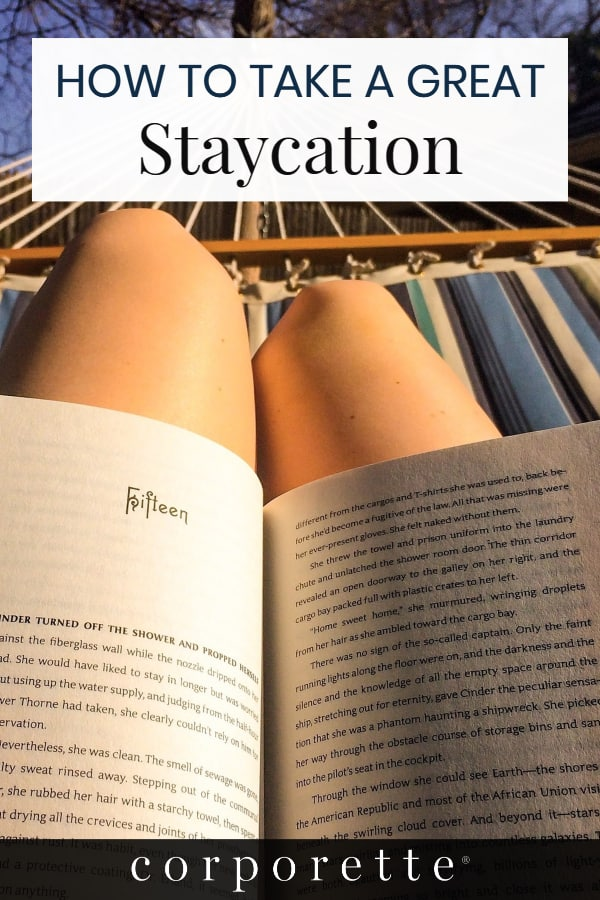 Staycations can be an easy, affordable way to refresh and rejuvenate yourself to help with work burnout and more -- but if you're not totally sure what you might DO on a staycation, we're here to help! They're one of Kat's favorite forms of vacation, and she's listing everything she does to make for a great staycation...