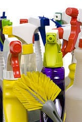 Cleaning Supplies, originally uploaded to Flickr by SurvivalWoman