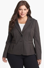 Sejour Micro Houndstooth Suit Jacket