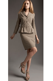 Andy The-Anh Peplum Jacket and Dress