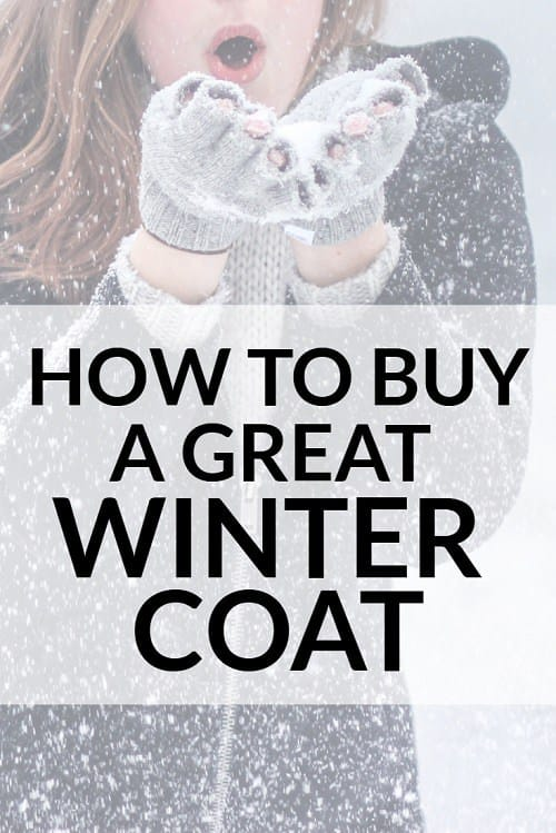 Looking to invest in a great winter coat this year? Here's everything we know about how to buy a GREAT winter coat, for work or beyond.