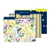 Container Store Sweet Pea File Folders