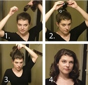 5-Minute Curls - Easy Hairstyles | Corporette