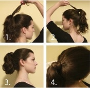Hair Wrap Ponytail - Easy Hairstyles | Corporette