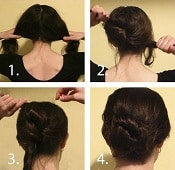 Low Hair Knot - Easy Hairstyles | Corporette