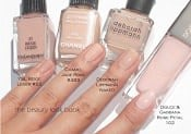 News update - pink nude polishes