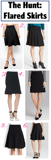 Flared Skirts: The Corporette Round-Up
