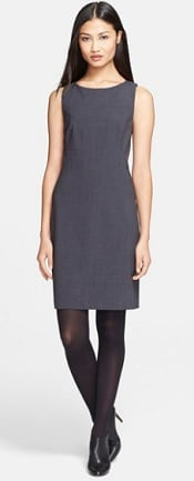 Theory 'Betty 2' Stretch Sheath Dress | Corporette